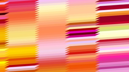 Abstract Pink and Orange Horizontal Lines and Stripes Background Illustrator