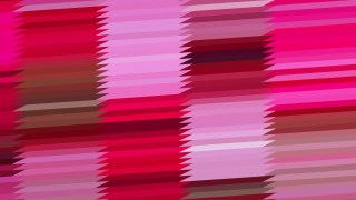 Abstract Pink and Red Horizontal Lines and Stripes Background Vector