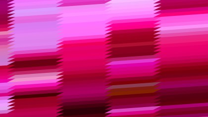 Pink and Red Horizontal Lines and Stripes Background Graphic