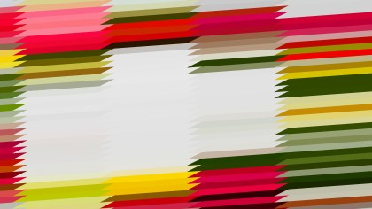 Abstract Pink Green and White Horizontal Lines and Stripes Background