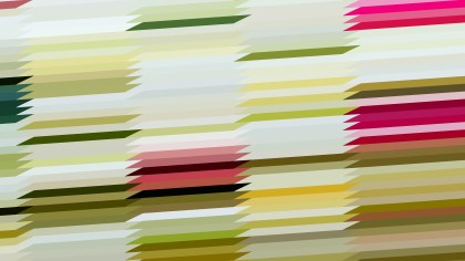 Pink Green and White Horizontal Lines and Stripes Background Design