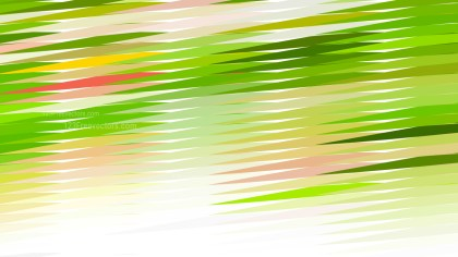Pink Green and White Horizontal Lines and Stripes Background