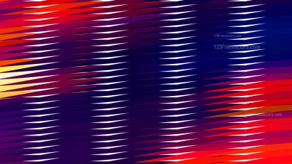 Abstract Red and Blue Horizontal Lines and Stripes Background