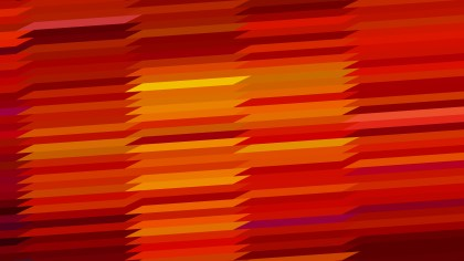Red and Orange Horizontal Lines and Stripes Background