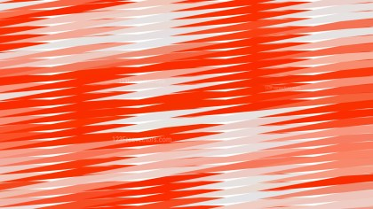 Red and White Horizontal Lines and Stripes Background