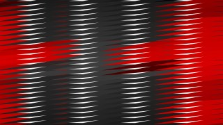Abstract Red Black and White Horizontal Lines and Stripes Background Design