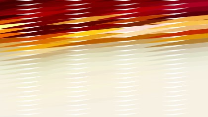 Abstract Red Orange and White Horizontal Lines and Stripes Background