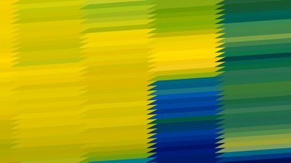 Blue Green and Yellow Abstract Background