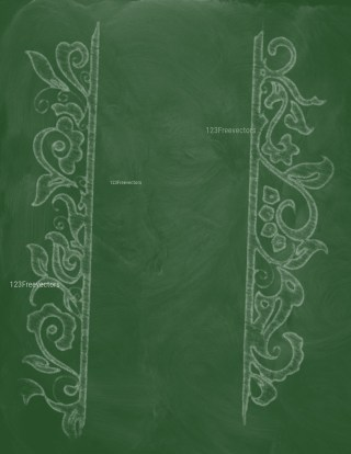 Green Chalkboard Background Image