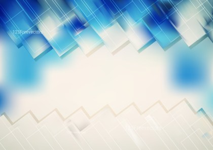 Blue and Beige Geometric Shapes Background Graphic
