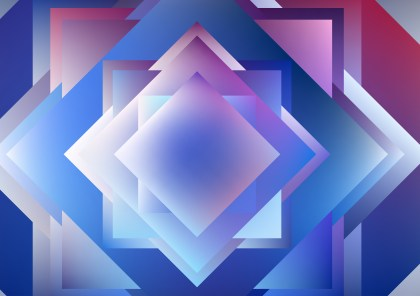 Abstract Blue Purple and White Modern Geometric Shapes Background Vector Image