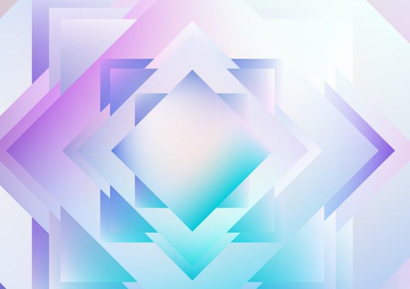 Blue Purple and White Modern Geometric Shapes Background