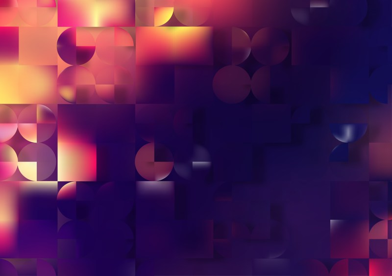 Abstract Dark Color Geometric Background Graphic