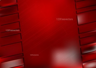 Abstract Dark Red Modern Geometric Shapes Background