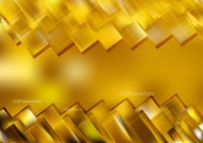 Abstract Gold Geometric Shapes Background Design