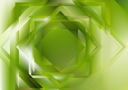 Abstract Green and White Geometric Background