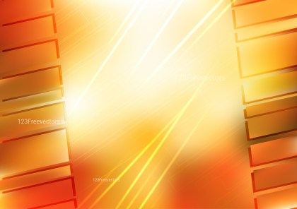 Orange and White Geometric Background Design