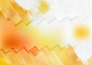 Abstract Orange and White Geometric Shapes Background