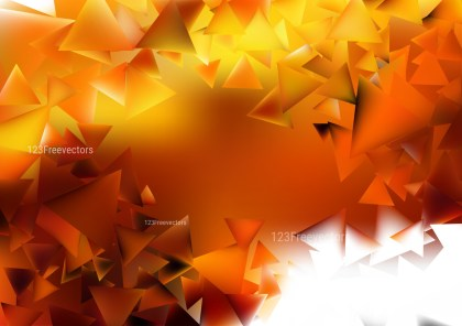 Abstract Orange and White Geometric Shapes Background Graphic