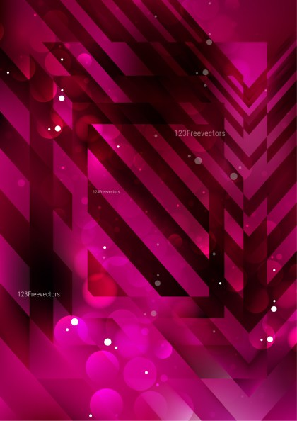 Abstract Pink and Black Modern Geometric Background