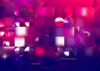 Abstract Pink and Blue Geometric Background Illustrator