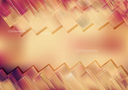 Pink and Brown Geometric Background