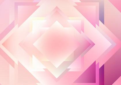 Pink and White Modern Geometric Background Illustration