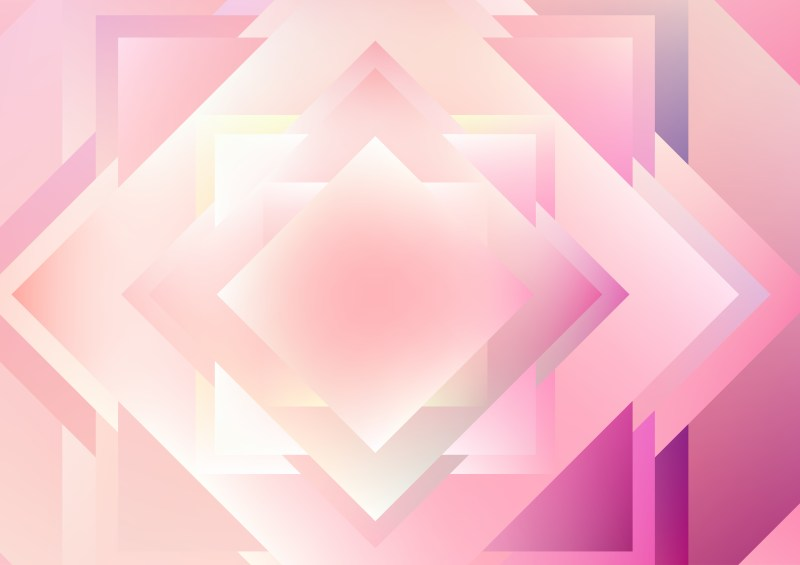 Pink and White Modern Geometric Background Illustration