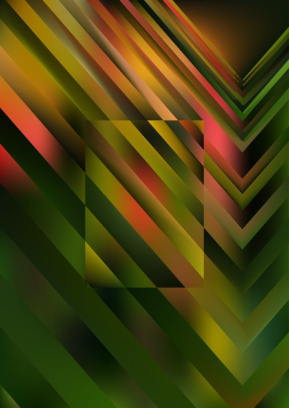 Pink Green and Black Geometric Shapes Background Illustrator