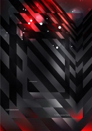Red and Black Modern Geometric Background