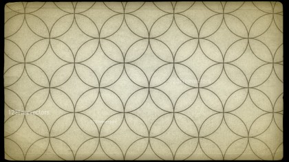 Beige Geometric Circle Background Pattern Image