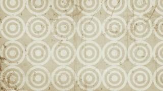 Beige Circle Grunge Pattern Background