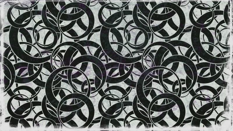 Black and Beige Geometric Circle Pattern Background Image