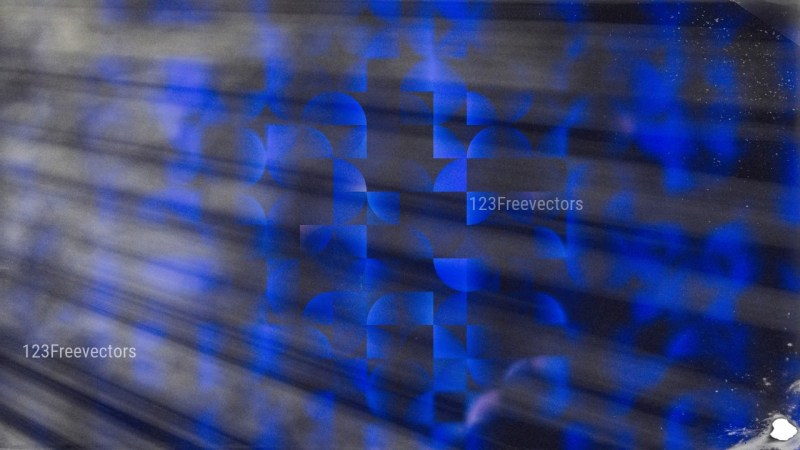 Black and Blue Abstract Quarter Circles Background Image