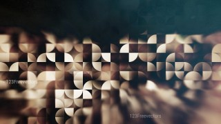 Black and Brown Abstract Quarter Circles Background