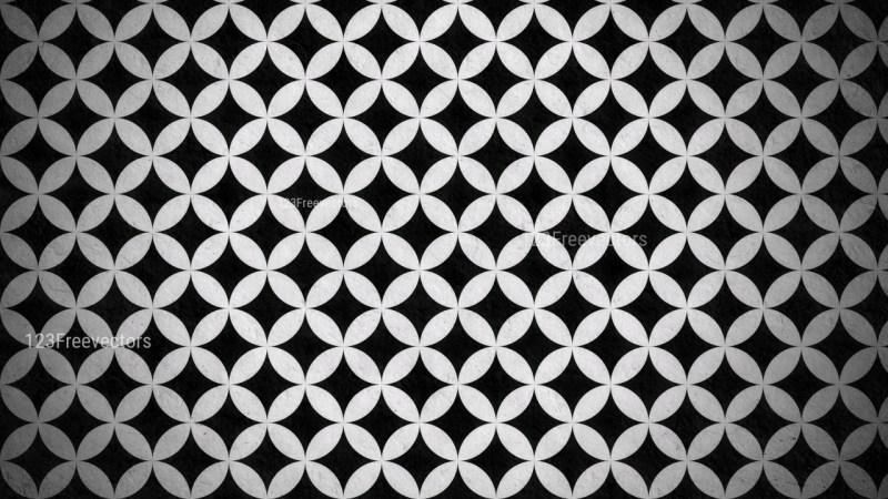 Black and Grey Geometric Circle Pattern Background Image