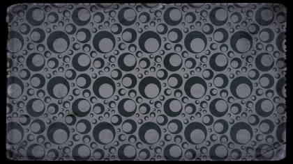 Black and Grey Circle Background Pattern Image