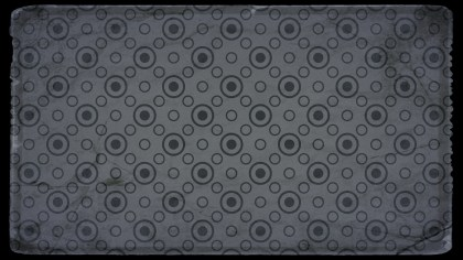 Black and Grey Geometric Circle Pattern Background Image