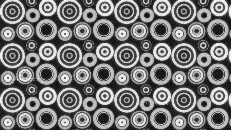 Black and Grey Geometric Circle Background Pattern Image