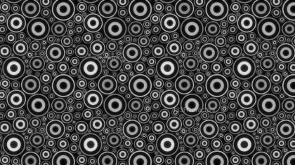Black and Grey Grunge Circle Pattern Background