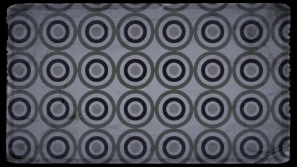 Black and Grey Grunge Seamless Circle Background Pattern Graphic