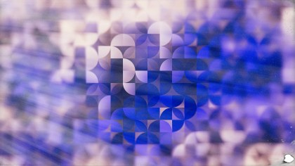 Blue and Purple Abstract Quarter Circles Background Image