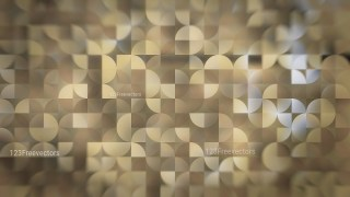 Abstract Brown Quarter Circles Background Image