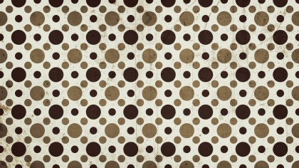 Brown Seamless Geometric Circle Pattern Background Image
