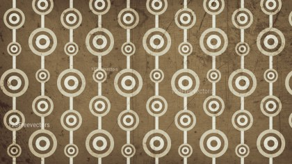 Brown Seamless Circle Background Pattern Image