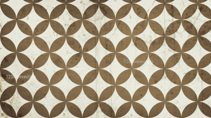 Brown Grunge Circle Background Pattern