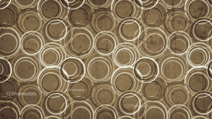 Brown Grunge Seamless Geometric Circle Background Pattern Design