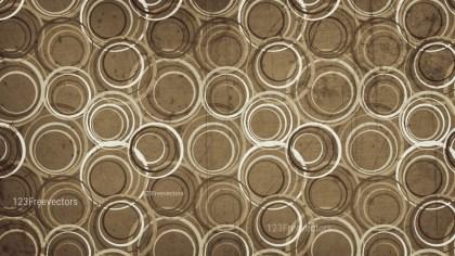 Brown Grunge Seamless Geometric Circle Background Pattern Design