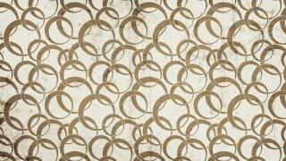 Brown Grunge Seamless Circle Wallpaper Pattern Background Image