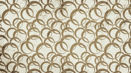Brown Grunge Seamless Circle Wallpaper Pattern Background Image